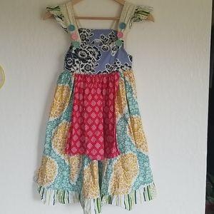 Matilda Jane Style Dress Size 7